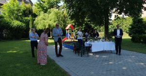 [ZDJĘCIA] Uroczyste otwarcie ogrodu w Przedszkolu Publicznym nr 2