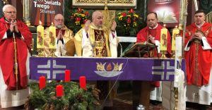 [ZDJĘCIA] Wizytacja biskupa w parafii w Bronowie