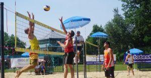[ZDJĘCIA] Grand Prix Czechowic-Dziedzic w siatkówce plażowej