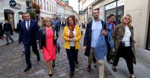 Kandydatka na premiera spotkała się przedsiębiorczymi kobietami