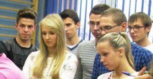 Studenci AWF z wizyt� w MOGKKu