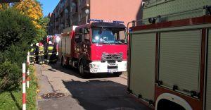 Pożar windy w 10-piętrowym bloku przy ulicy Krzanowskiego