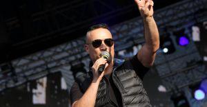 90' Festiwal: Stachursky wystąpił na scenie razem ze Scooterem - zdjęcia