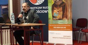 [ZDJĘCIA] Spotkanie z księdzem Tadeuszem Isakowiczem-Zaleskim