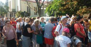 Z Czechowic-Dziedzic wyruszyła pielgrzymka na Jasną Górę