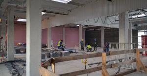 [ZDJĘCIA] Budowa nowej siedziby dla miejskiej biblioteki