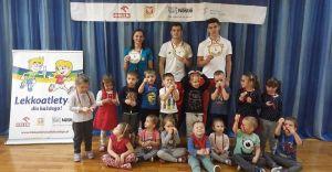 Lekkoatleci MKS Czechowice-Dziedzice w Przedszkolu nr 10