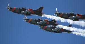 [ZDJĘCIA] Międzynarodowy Piknik Lotniczy w Bielsku-Białej