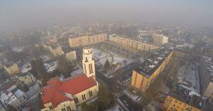 [ZDJĘCIA] Olbrzymi smog nad Czechowicami-Dziedzicami!