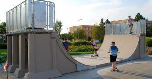 [ZDJĘCIA] Nowy skatepark w Parku na Północy otwarty