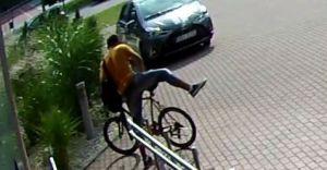 Nastoletni złodziej, który skradł rower, jest już w rękach policji