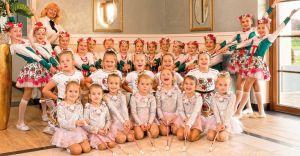 Mażoretki zaprezentowały swoje najlepsze układy taneczne