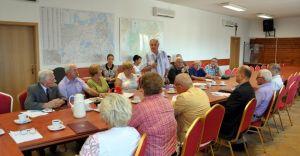 Pierwsze posiedzenie Gminnej Rady Seniorów - zdjęcia