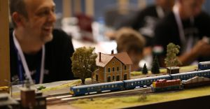 [ZDJĘCIA i WIDEO] Olbrzymia makieta kolejowa w Bielsku-Białej
