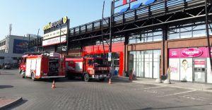 Pożar w Centrum Handlowym Stara Kablownia