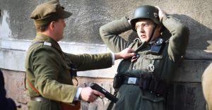 [ZDJĘCIA, WIDEO] Potyczka polskich partyzantów z Niemcami w Lasku
