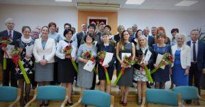 Obchody Dnia Nauczyciela w Starostwie Powiatowym - zdjęcia