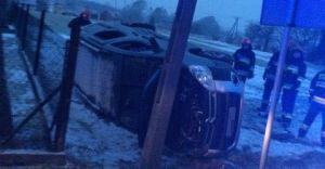 [ZDJĘCIA] Wypadek w Bestwince, jedna osoba w szpitalu