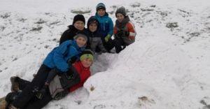 """Akcja """"Zima"""" w Szkole Podstawowej nr 2 w Ligocie"""