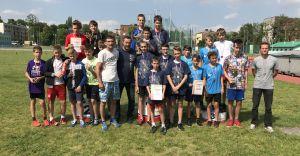 SP nr 2 - Mistrzowie Śląska, szósta drużyna w kraju w czwórboju