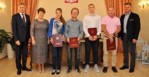 Nagrody Burmistrza dla sportowców reprezentujących naszą gminę