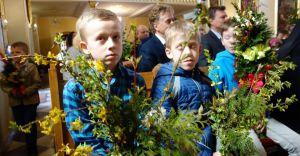 [ZDJĘCIA] XIV Konkurs palm wielkanocnych w Zabrzegu