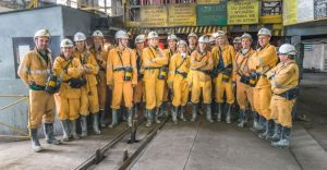 [ZDJĘCIA] Siatkarki BKS-u odwiedziły kopalnię PG Silesia