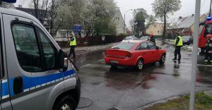 Wypadek na skrzyżowaniu ulic Barlickiego i Prusa, jest osoba ranna
