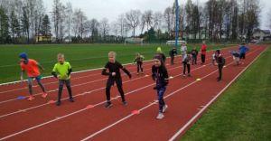 Stadion lekkoatletyczny w Zabrzegu tętni życiem