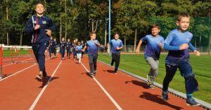 [ZDJĘCIA] W Zabrzegu otwarto nowoczesny stadion lekkoatletyczny