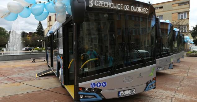Przekazanie nowych autobusów - 15.09.2017