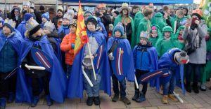 [ZDJĘCIA] Barwny Orszak Trzech Króli przeszedł ulicami Zabrzega
