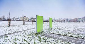 [ZDJĘCIA] Zimowa aura w parku Północ w Czechowicach-Dziedzicach