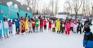 Moc atrakcji dla dzieci i młodzieży na czechowickim lodowisku