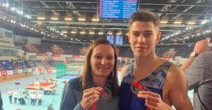 Jakub Pająk podwójnym medalistą na Halowych Mistrzostwach Polski