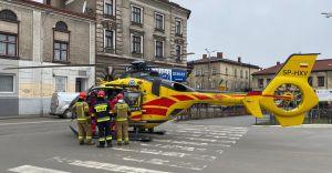 LPR interweniował na dworcu autobusowym - zasłabła 82-latka